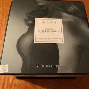 Victoria's Secret U-plunge backless push up bra